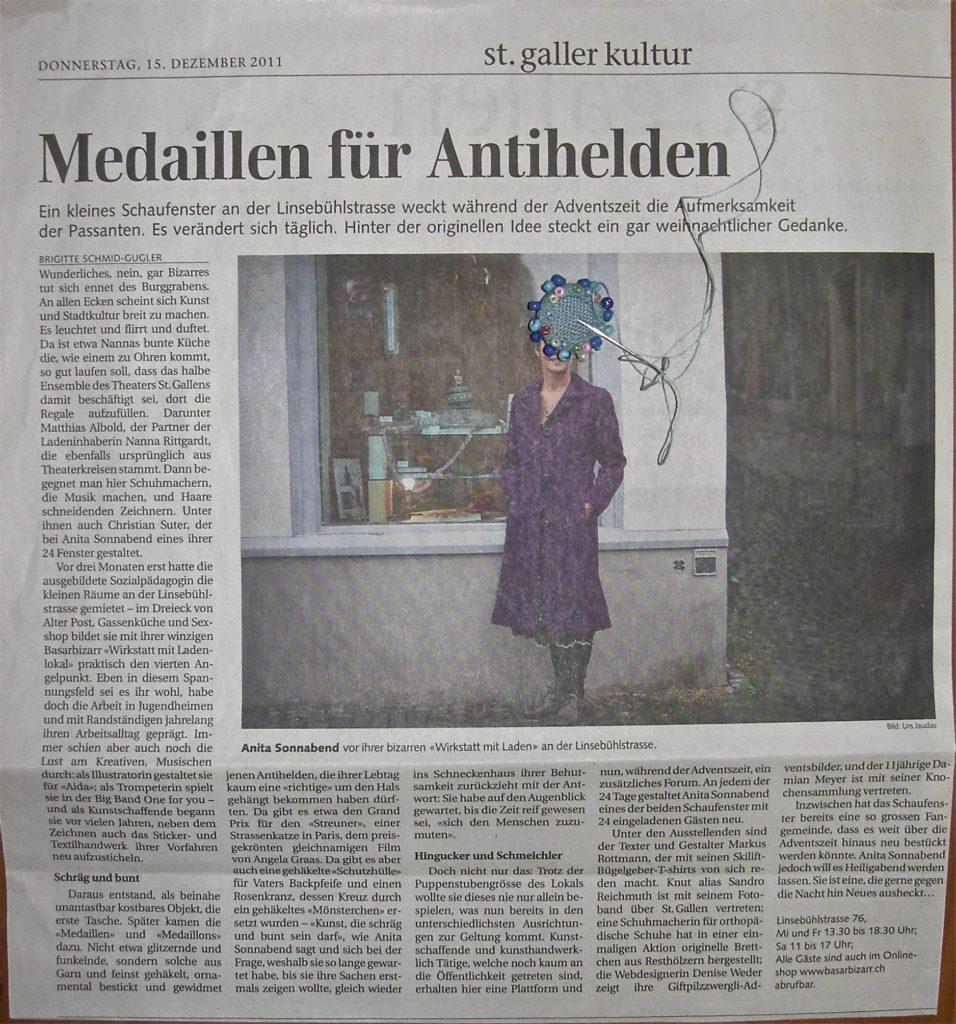 St.Galler Tagblatt Dez.2011