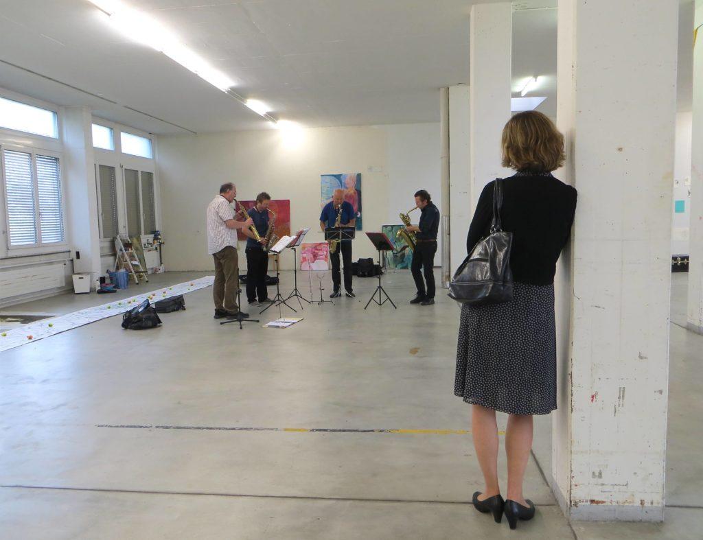 Saxophon Ensemble im Werkhaus45